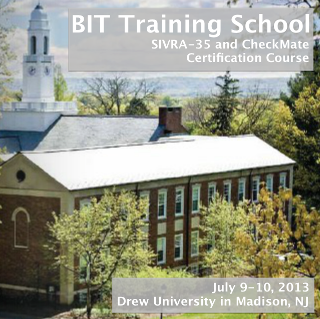 BIT Training School at Drew University