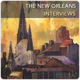 The New Orleans Interviews simple button